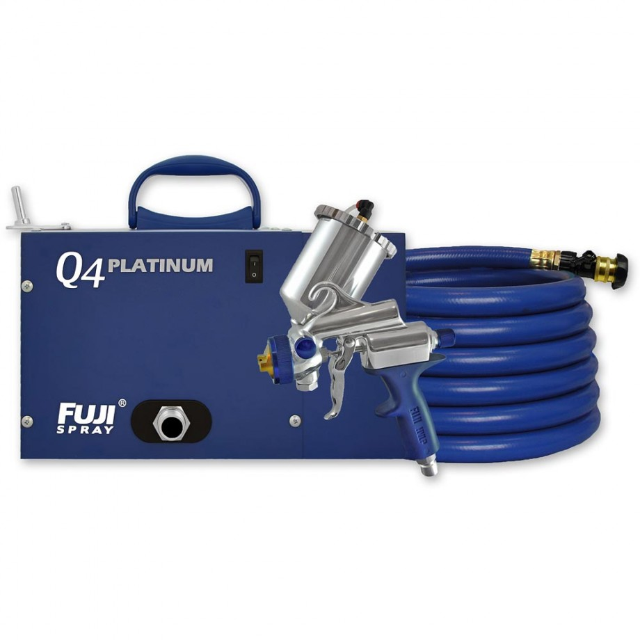 Fuji Q4 Platinum Turbine Unit c/w G-Xpc Spray Gun - PACKAGE DEAL