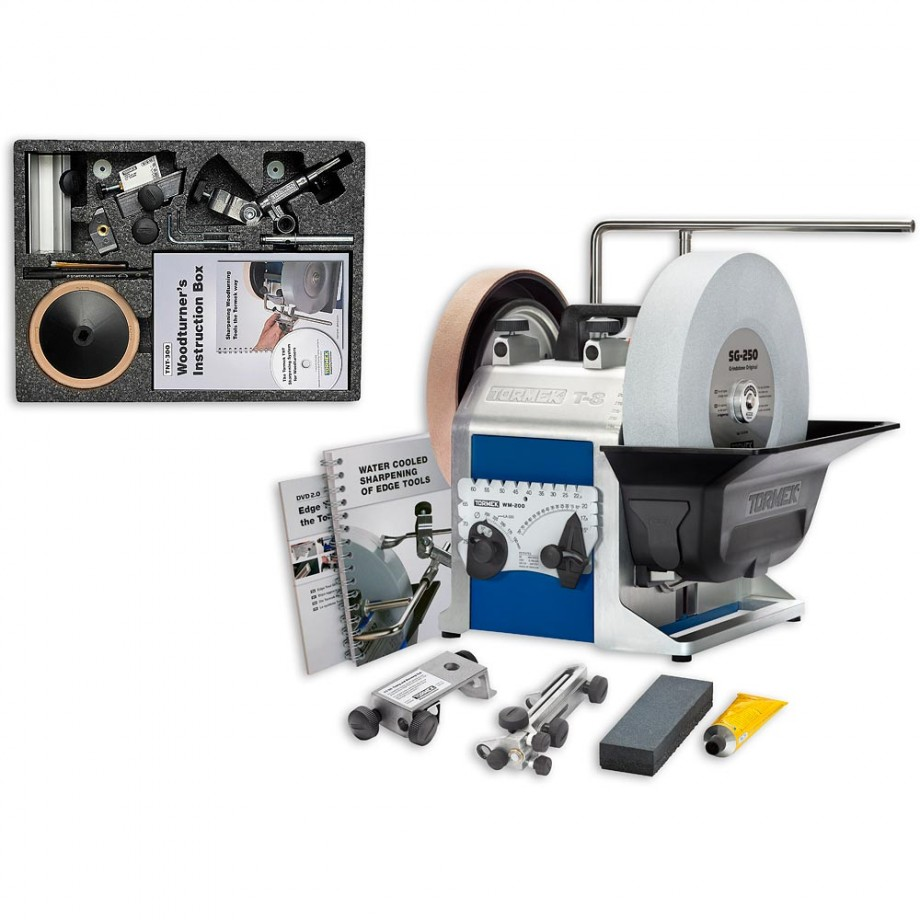Tormek T-8 Sharpening System & Woodturner's Kit - PACKAGE DEAL