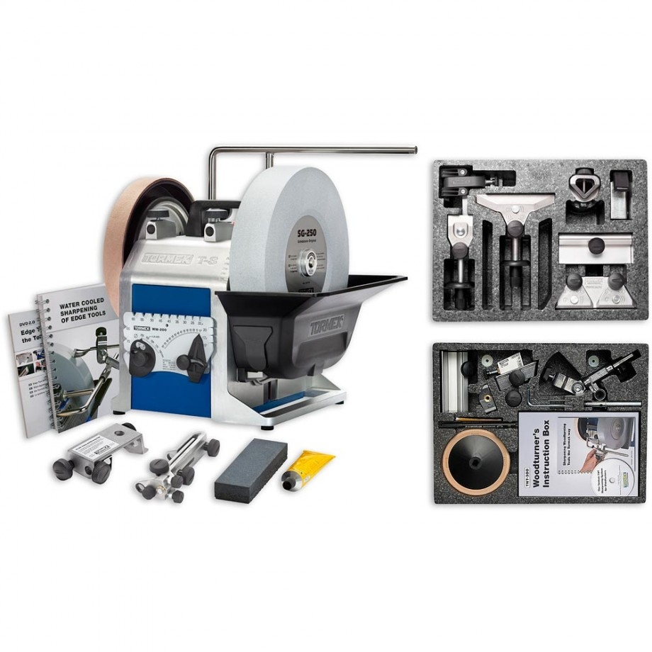 Tormek T-8 Sharpening System, Handtool & Woodturner's Kit - PACKAGE DEAL