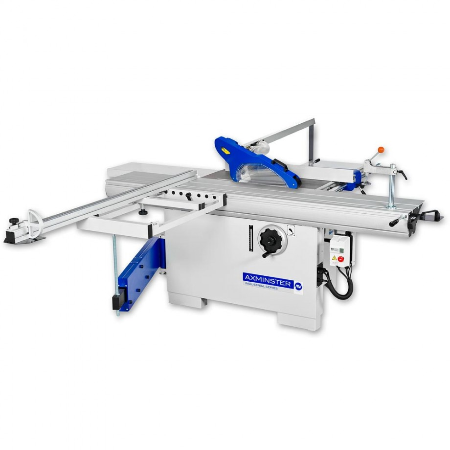 Axminster Industrial Series P30/2200 Panel Saw & Guard Kit - 230V