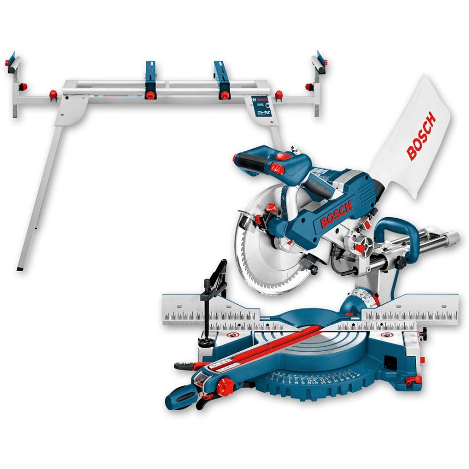 Bosch 110V GCM 10 SD Mitre Saw & Stand - Package Deal