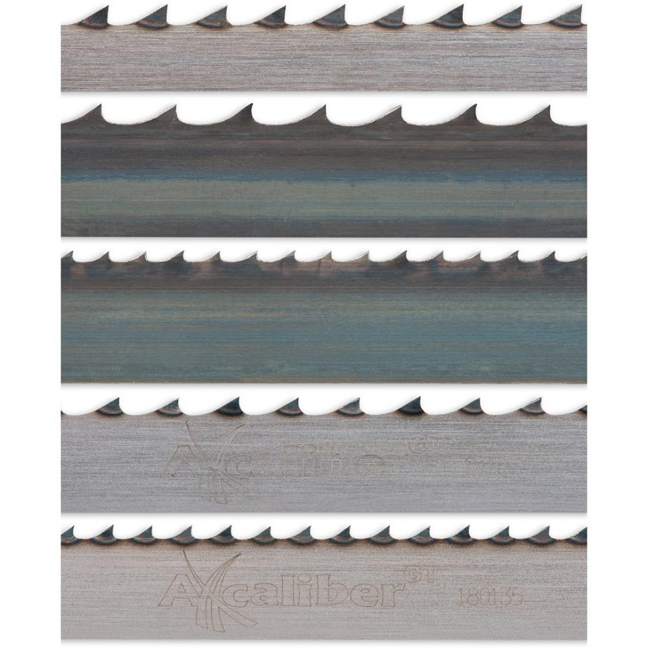 """Axcaliber Pack of 5 Bandsaw Blades - 3,050mm(120"""")"""