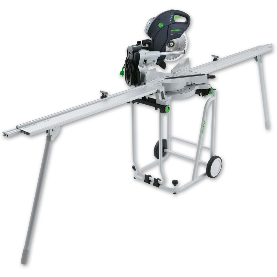 Festool KS 120 UG-Set  Mitre Saw, Base Frame & L/R Extensions