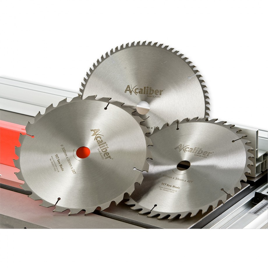 Axcaliber Contract 250mm TCT Saw Blades (x3) - PACKAGE DEAL
