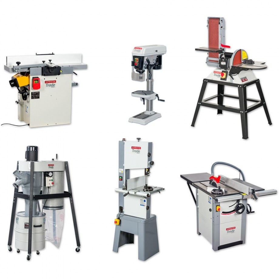 Axminster Trade Series Trade Workshop Machinery Package