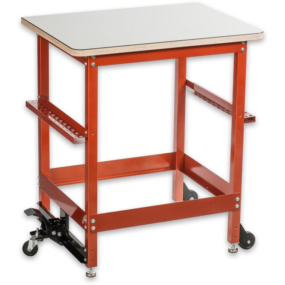 UJK Technology Compact Assembly Table with Laminated Top