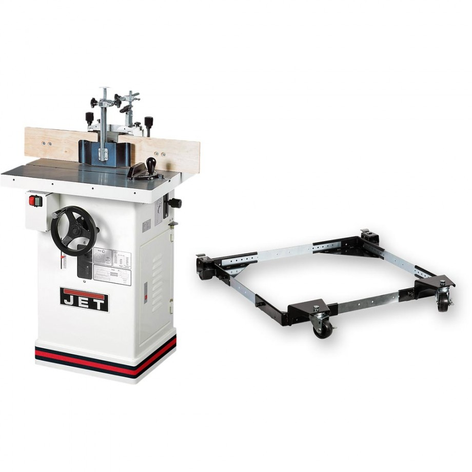 Jet JWS-34 KX Spindle Moulder & Mobile Base - PACKAGE DEAL