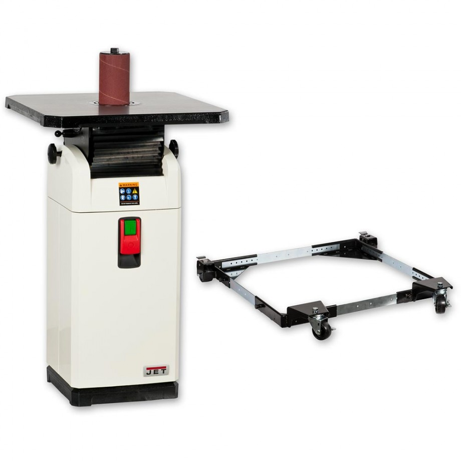 Jet JOSS-S Oscillating Spindle Sander & Mobile Base - PACKAGE DEAL