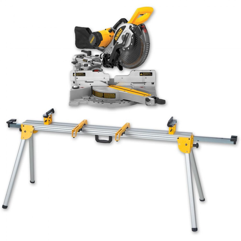 Dewalt Dw717xps 250mm Mitre Saw Amp De7023 Stand Mitre