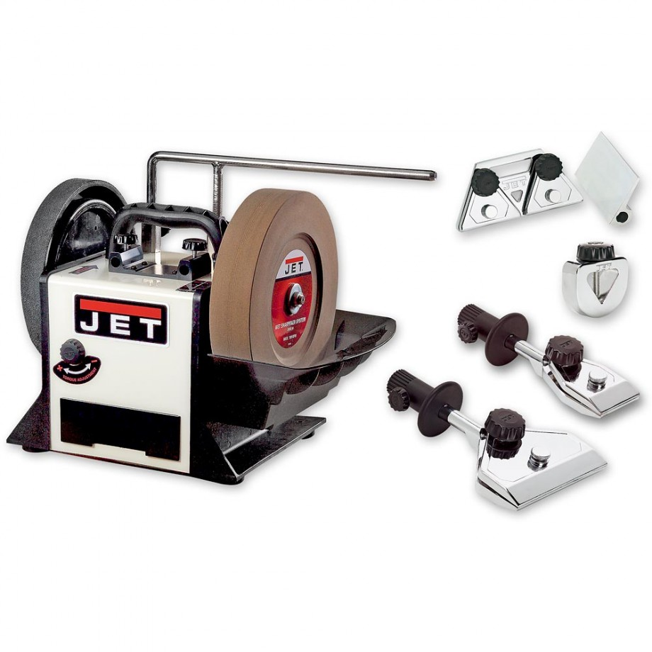 Jet JSSG-10 Wet Sharpening System With Hand Tool Jig Kit
