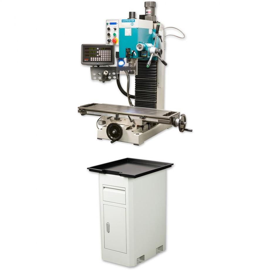 Axminster Engineer Series SX4 DIGI Mill & Powerfeed - PACKAGE DEAL