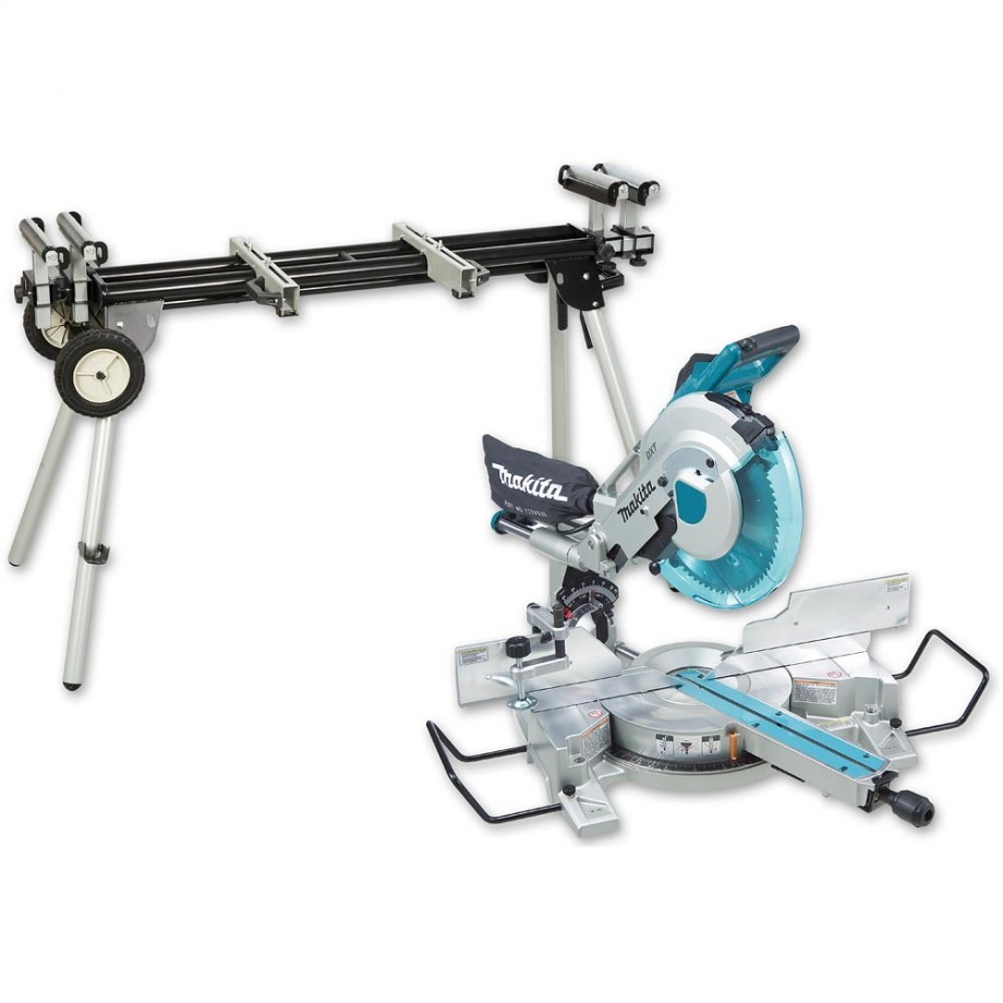 Makita LS1216L 305mm Compound Mitre Saw with Laser 110V & Stand