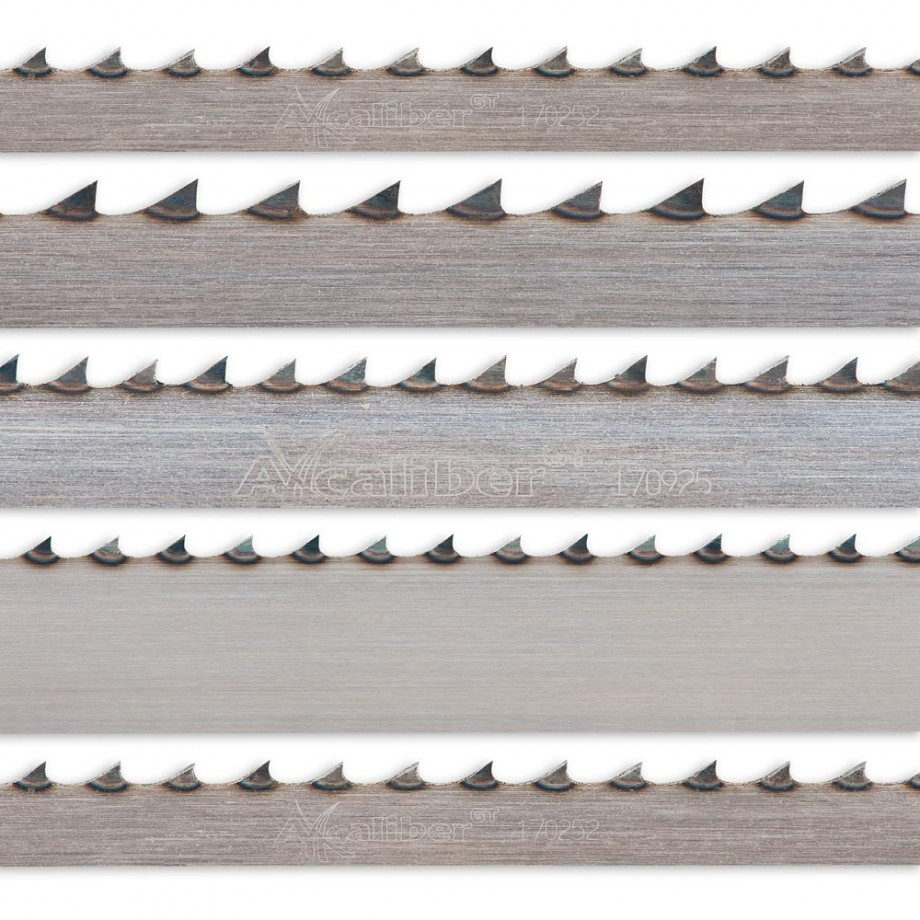 Axcaliber Pack Of 5 Bandsaw Blades For AC2305B