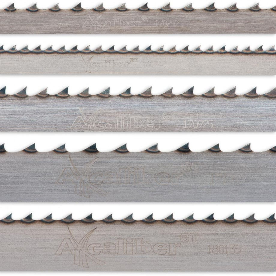 Axcaliber Pack Of 5 Bandsaw Blades For AT1854B & AT1854BV