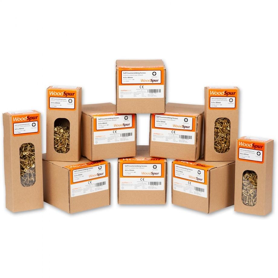 WoodSpur Pozi Screws 5,000 Piece Package Deal