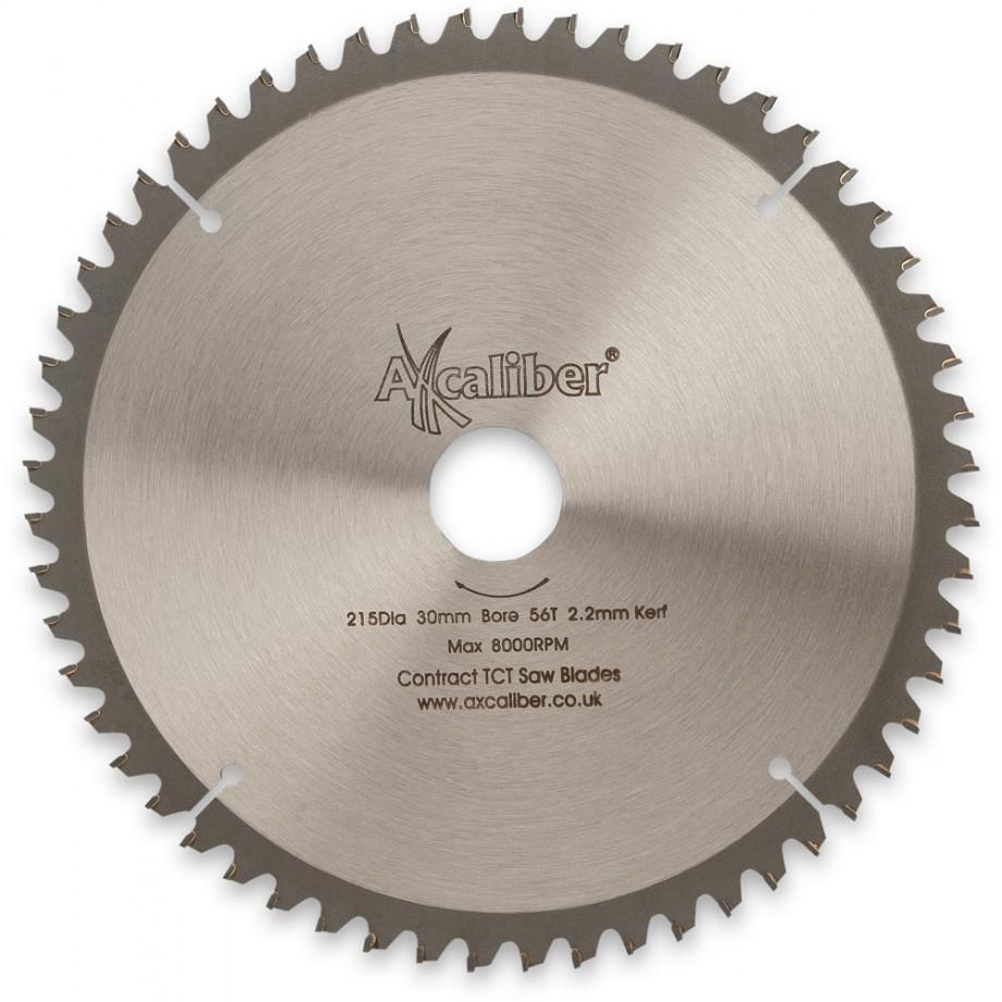 Axcaliber Contract 215mm Neg Rake TCT Saw Blade