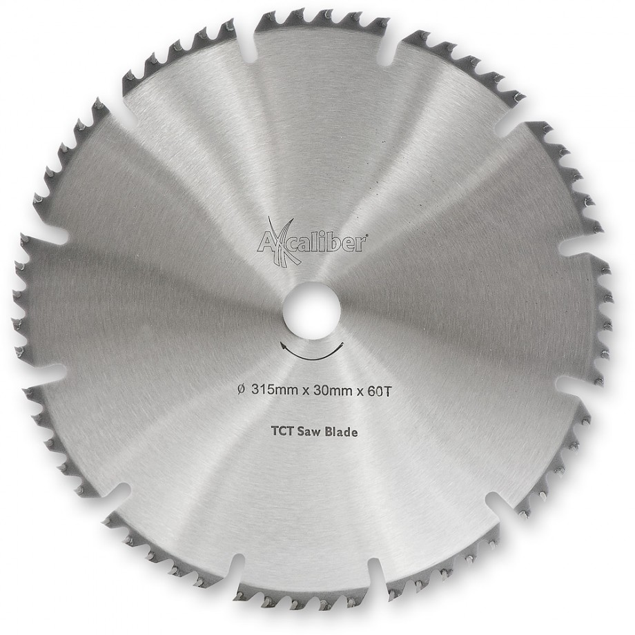 Axcaliber Contract TCT Saw Blade Combination - 315mm x 3.2mm x 30mm T60