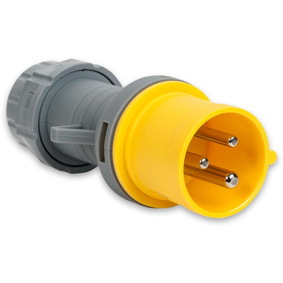 Axminster Yellow Plug 16A - 110V