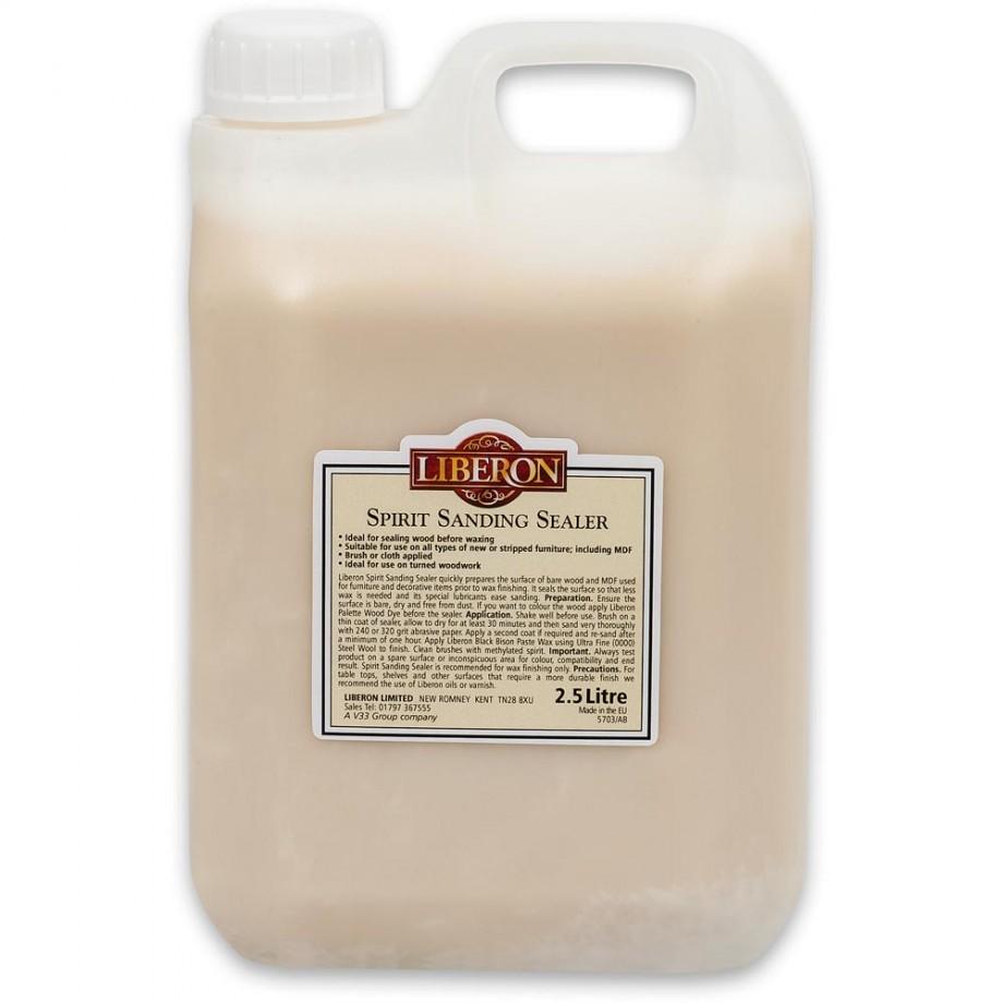Liberon Spirit Based Sanding Sealer - 2.5 litre
