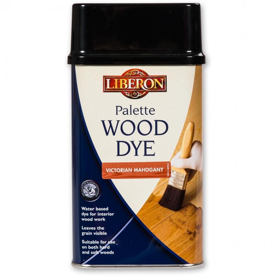 Liberon Palette Wood Dye - Victorian Mahogany 500ml