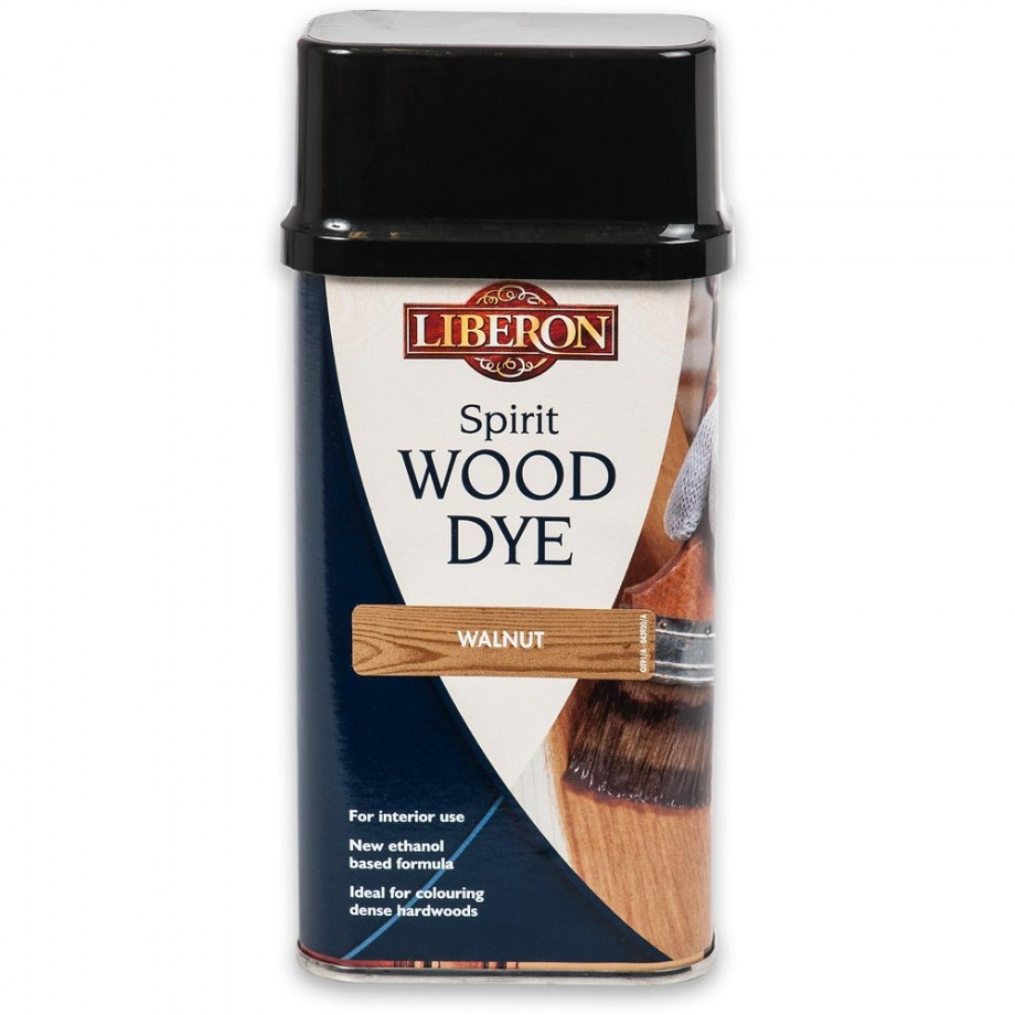 Liberon Spirit Wood Dye - Walnut 250ml