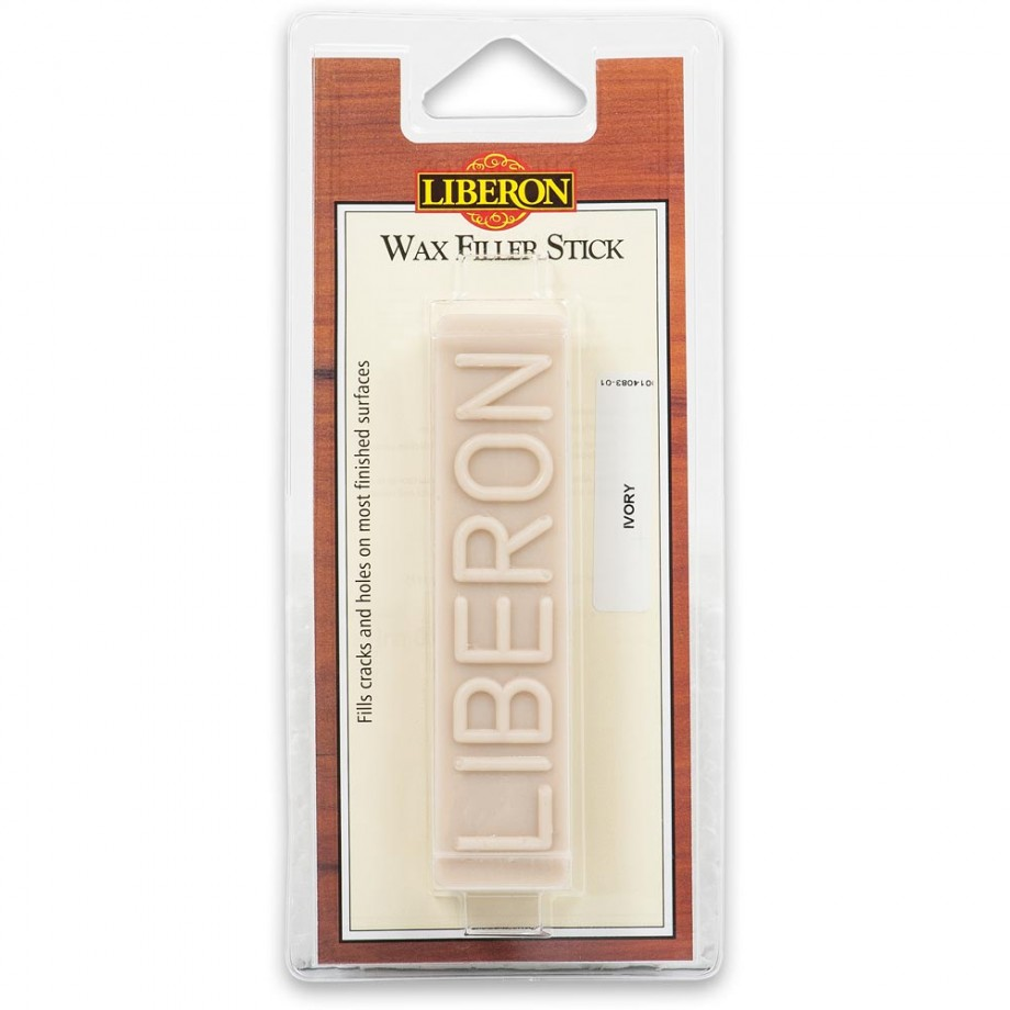 Liberon Wax Filler Stick - #01 Ivory 50g