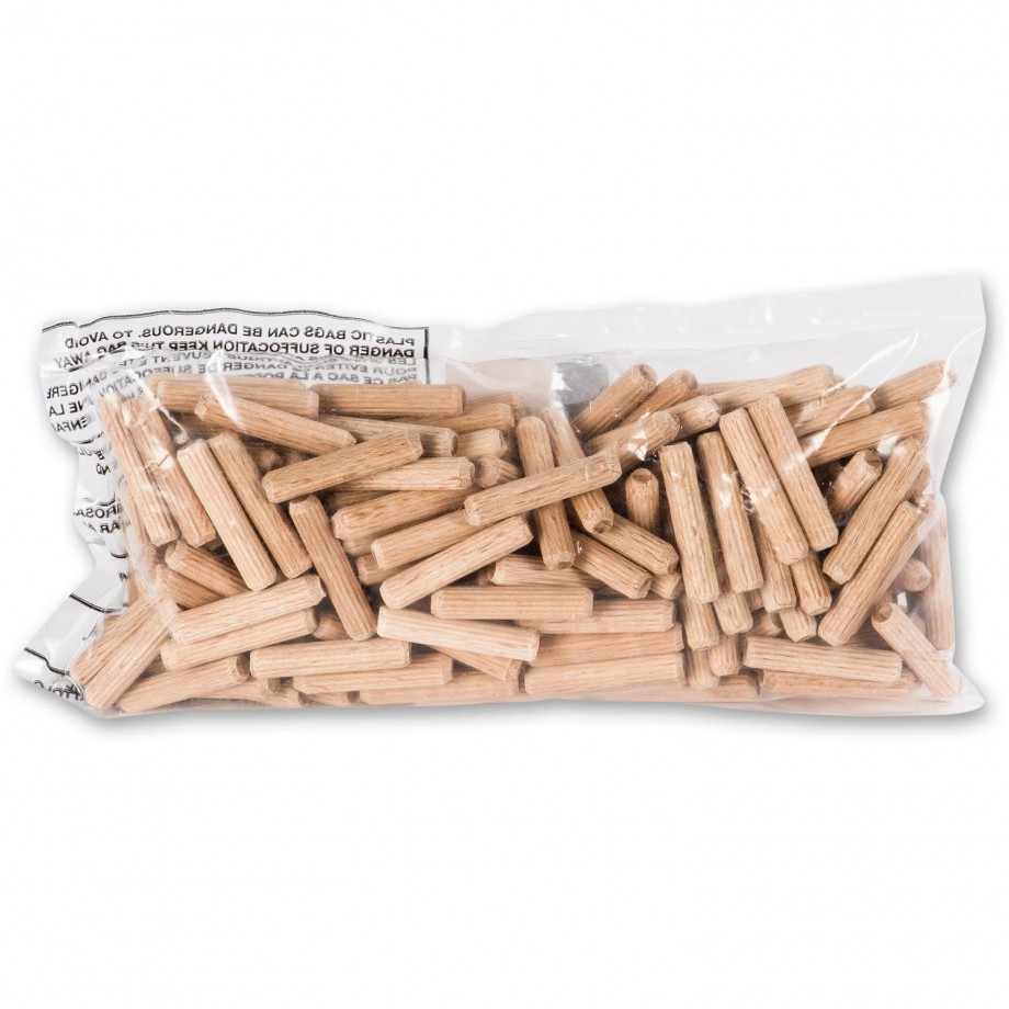 Axminster Beechwood Pre-Cut Dowels - 6mm (Pkt 200)