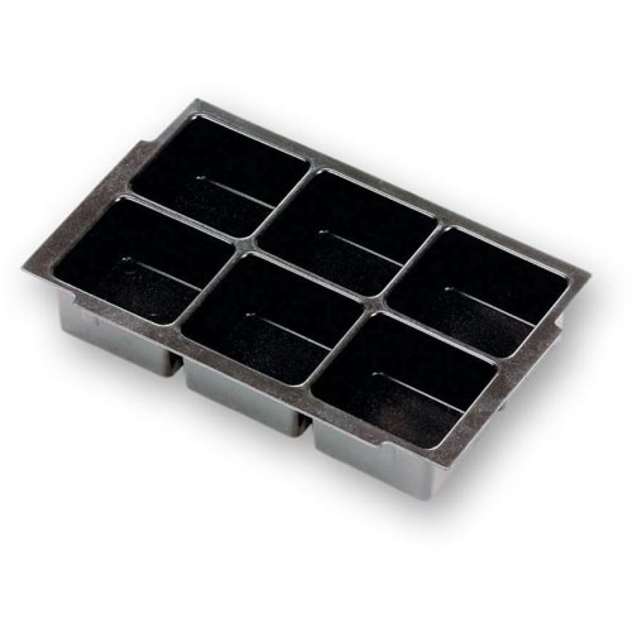 Festool Deep-drawer Inserts - 6 Compartments