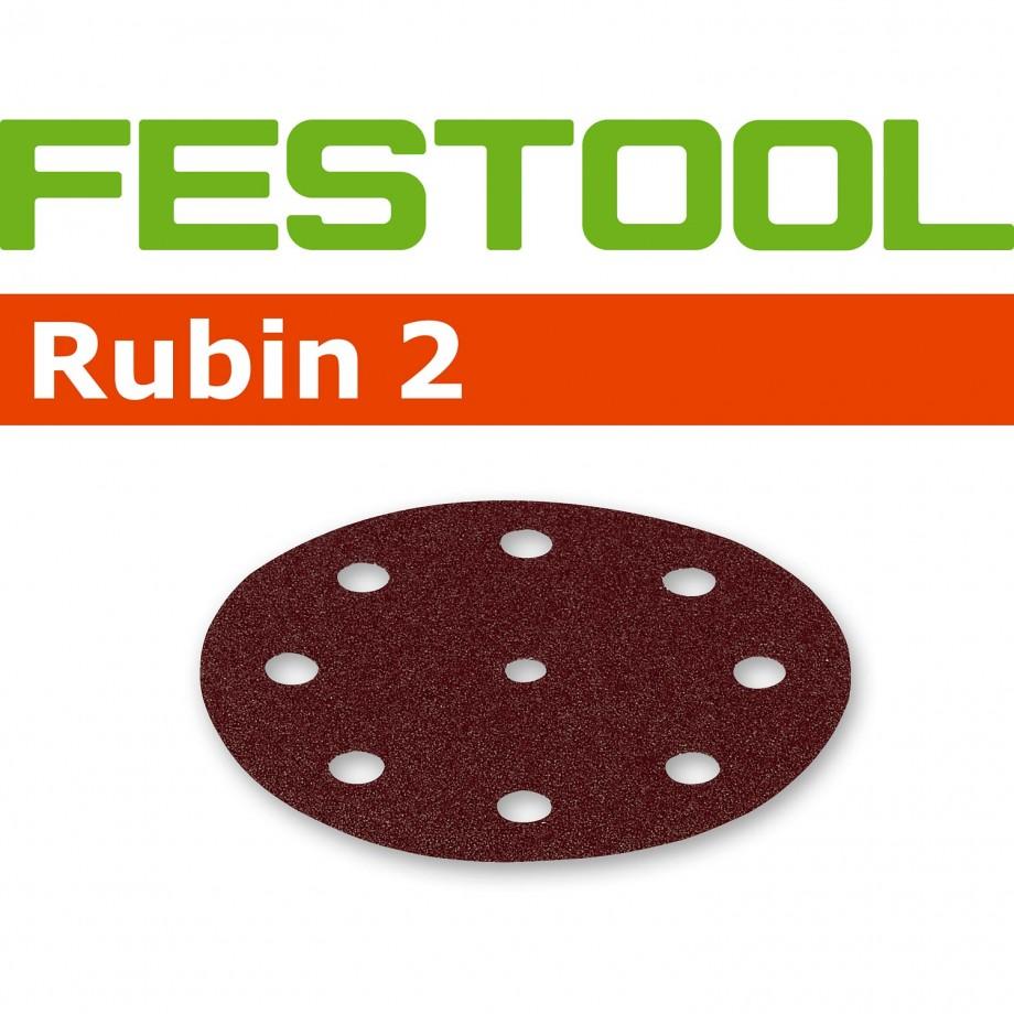Festool Rubin 125mm Sanding Discs - 120 Grit (Pkt 10)