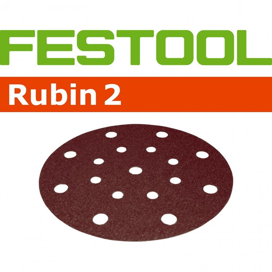 Festool Rubin 150mm Sanding Discs - 80 Grit (50)