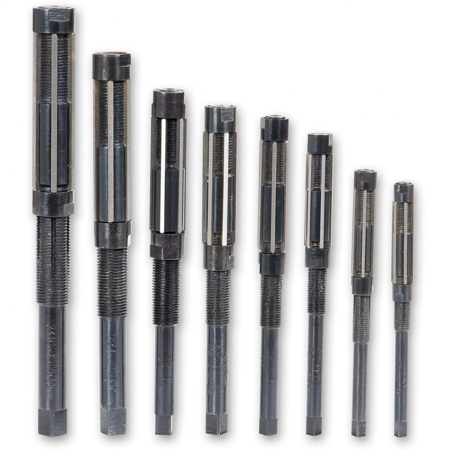 Axminster 8 Piece Medium Adjustable Reamer Set