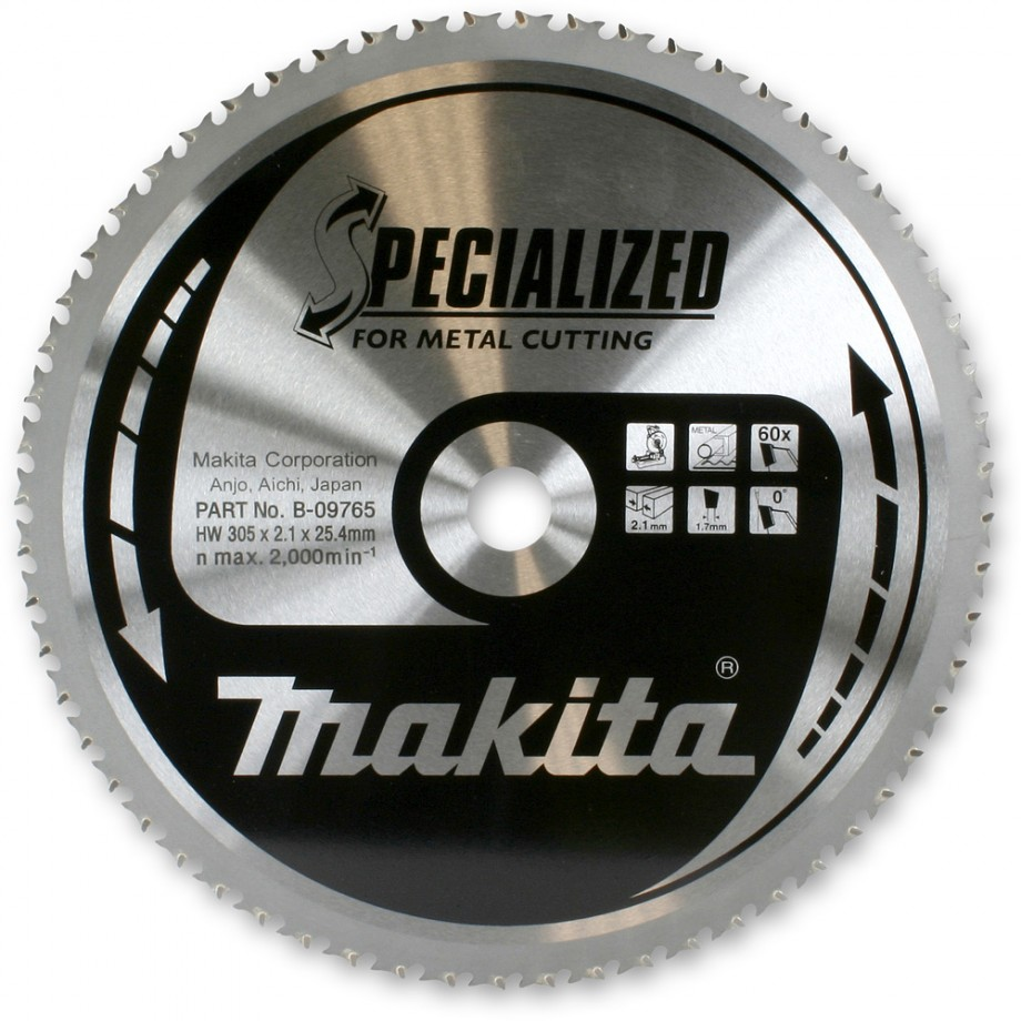 Makita 305mm Blade For Cut Off Saw Circular Saw Blades