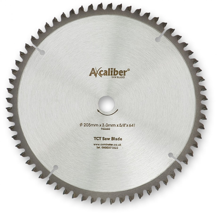 Axcaliber Contract 205mm TCT Aluminium Cutting Blade