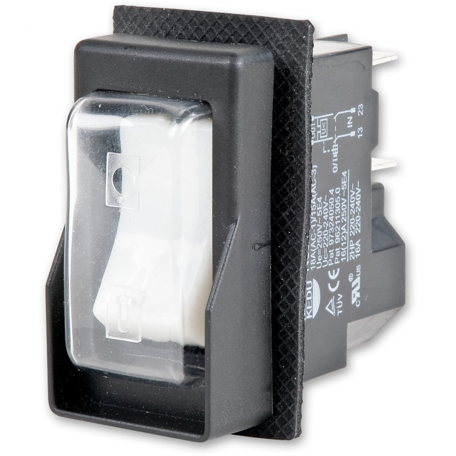 KEDU KJD16 Rocker Switch 5 Terminal 230V 1ph