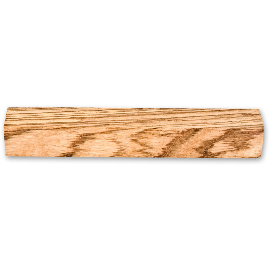 Craftprokits Zebrano Pen Blank 120 x 17mm