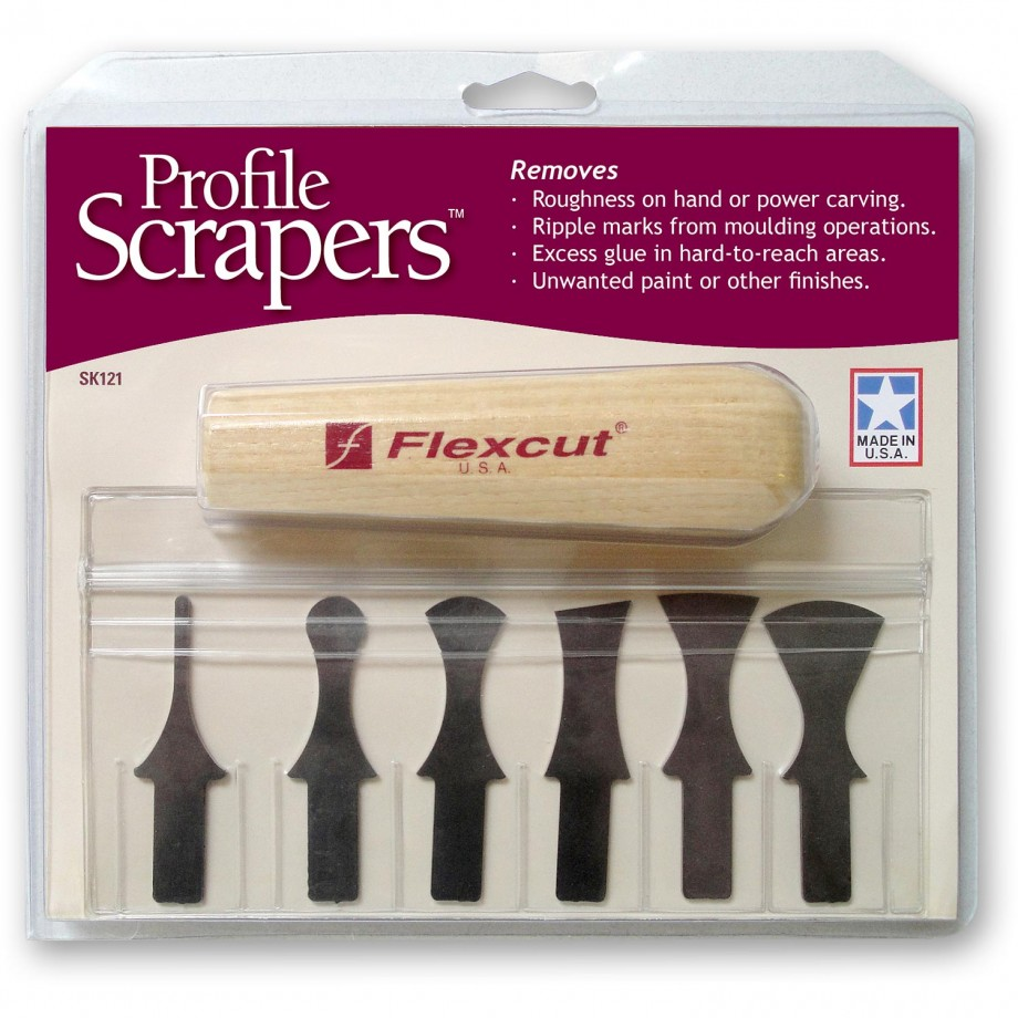 Flexcut Profile Scraper Set