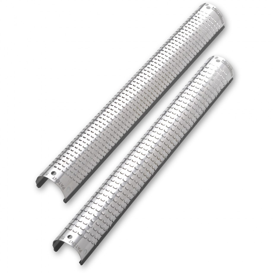 Microplane 200mm Snap-In Coarse and Fine Round Replacement Blades
