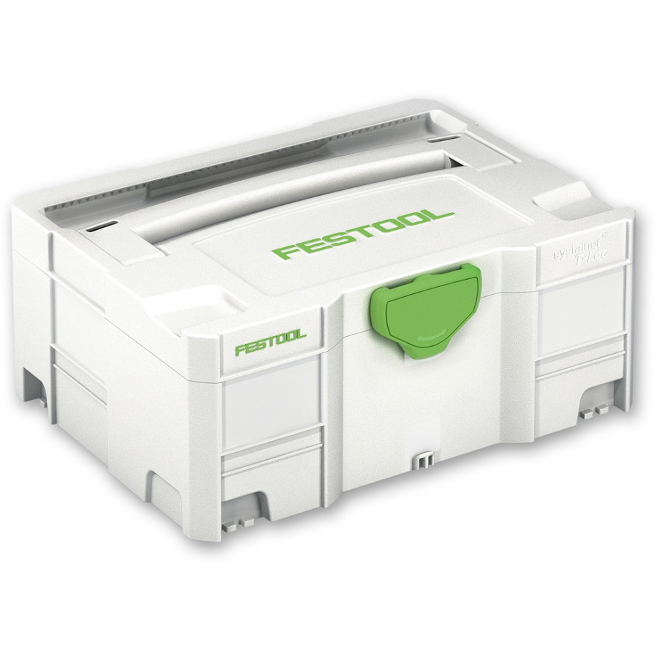 Festool Systainer T-LOC Case - Sys 2, 157mm High