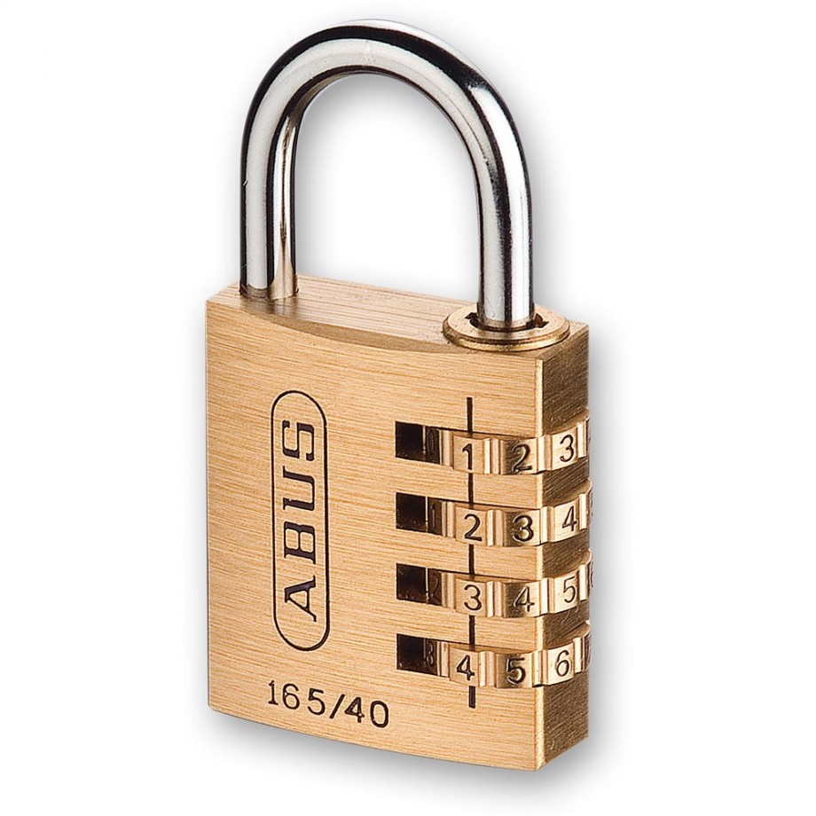 Abus 165 Brass Combination Padlock