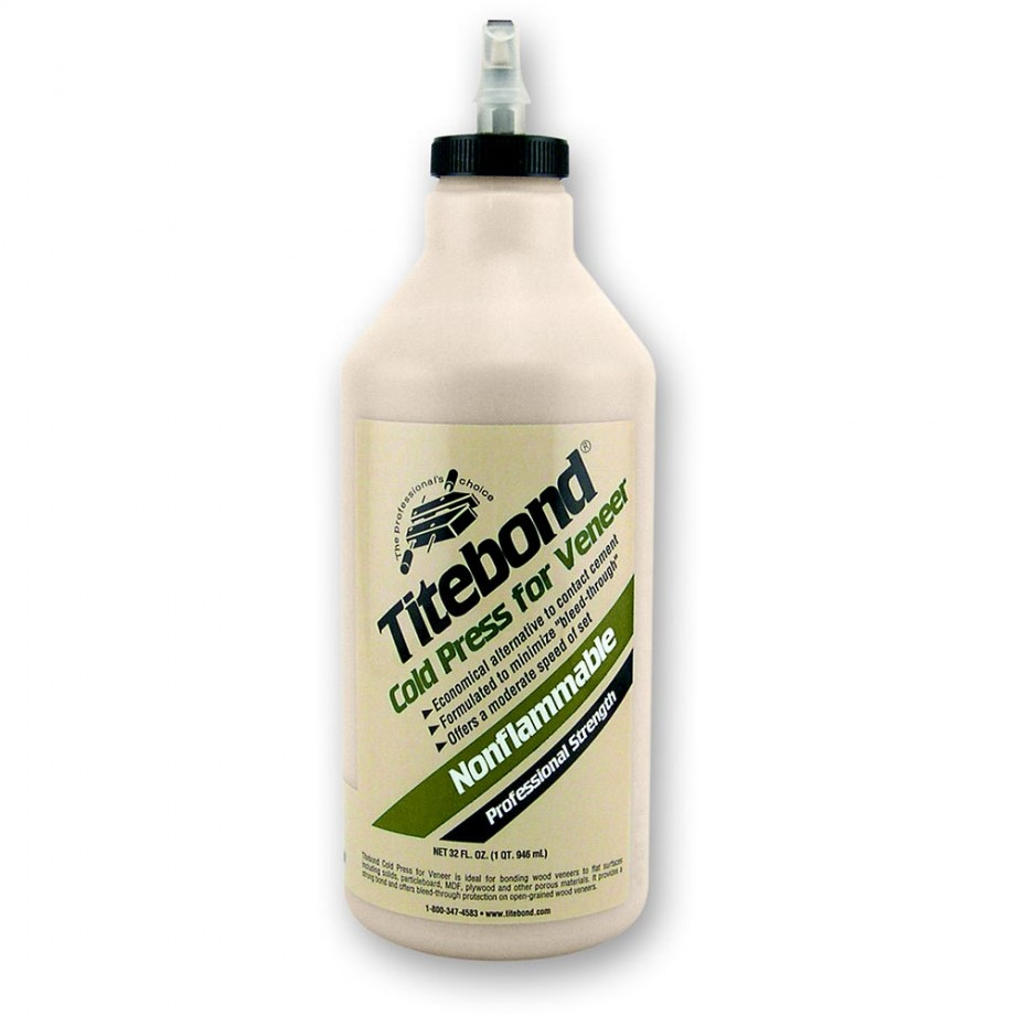 Titebond Cold Press for Veneer - 946ml (32oz)