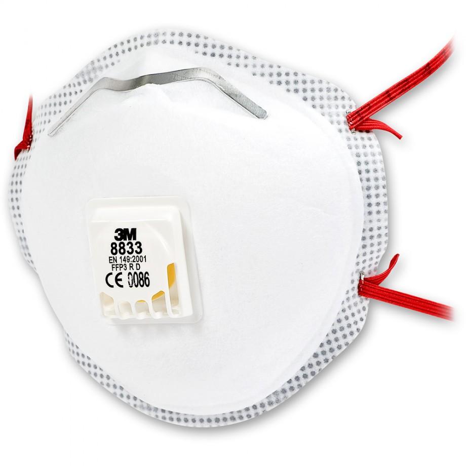 3M 8833 FFP3 Respirator - Pack 10