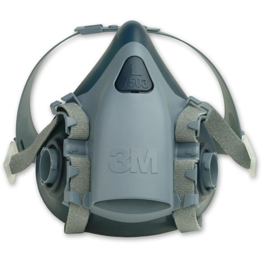 3M 7503 Half Mask - Large (Dark Blue)