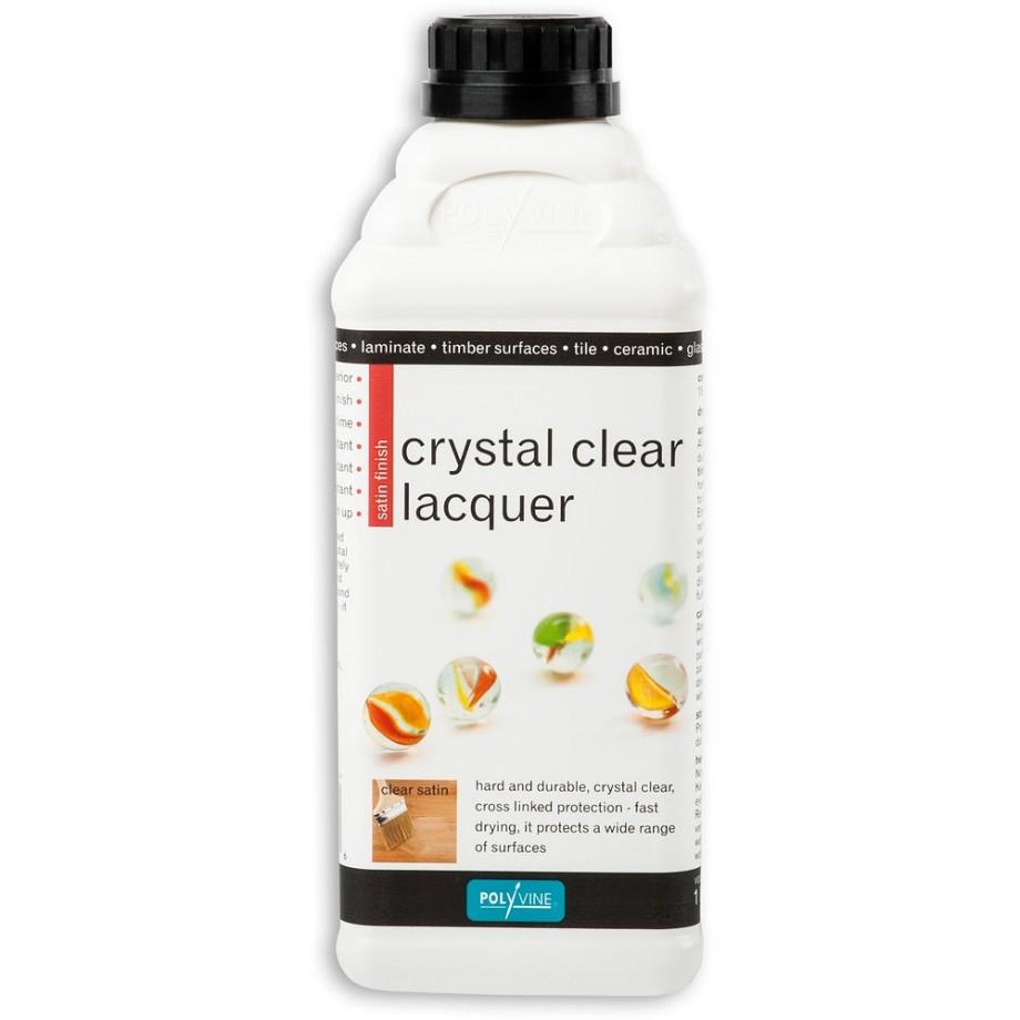 Polyvine Interior Lacquer Satin 1 litre