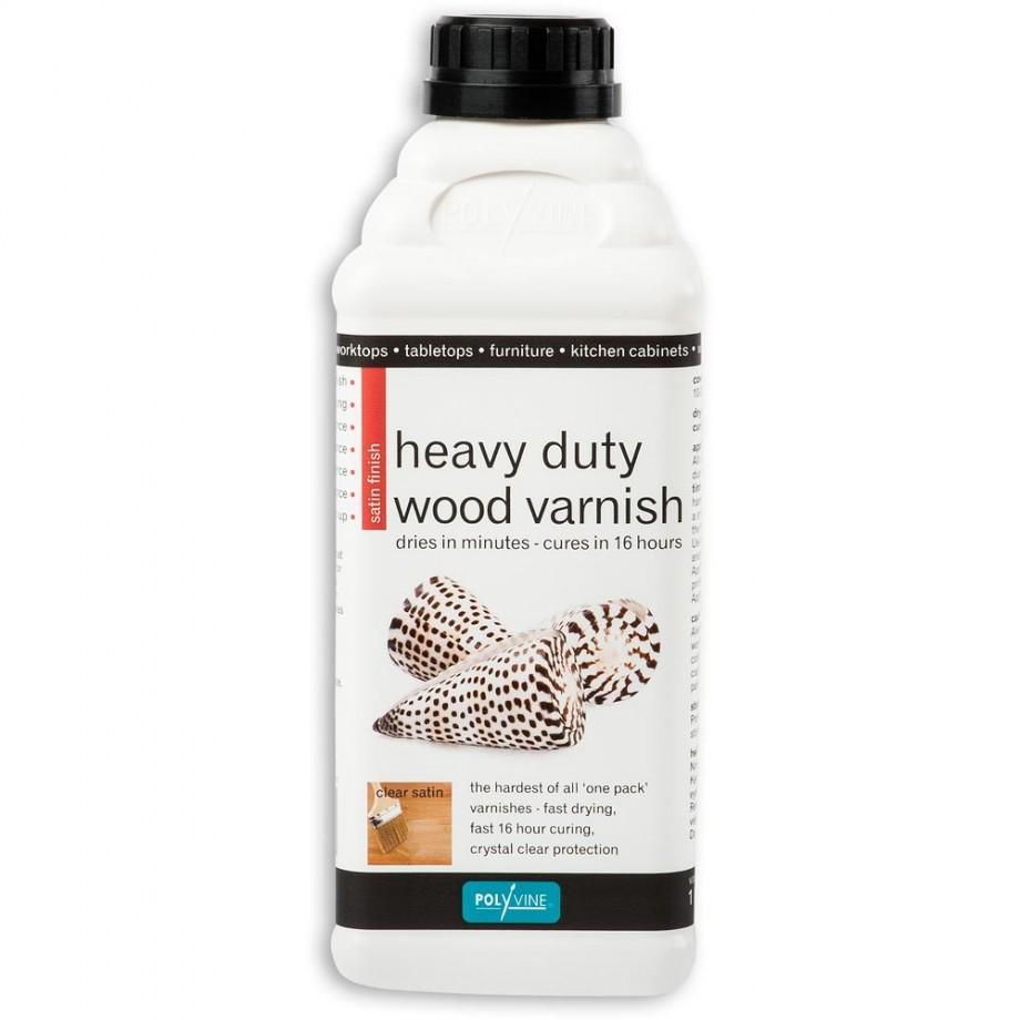 Polyvine Satin Varnish 1 litre