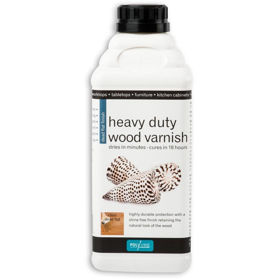 Polyvine Dead Flat Varnish 1 litre