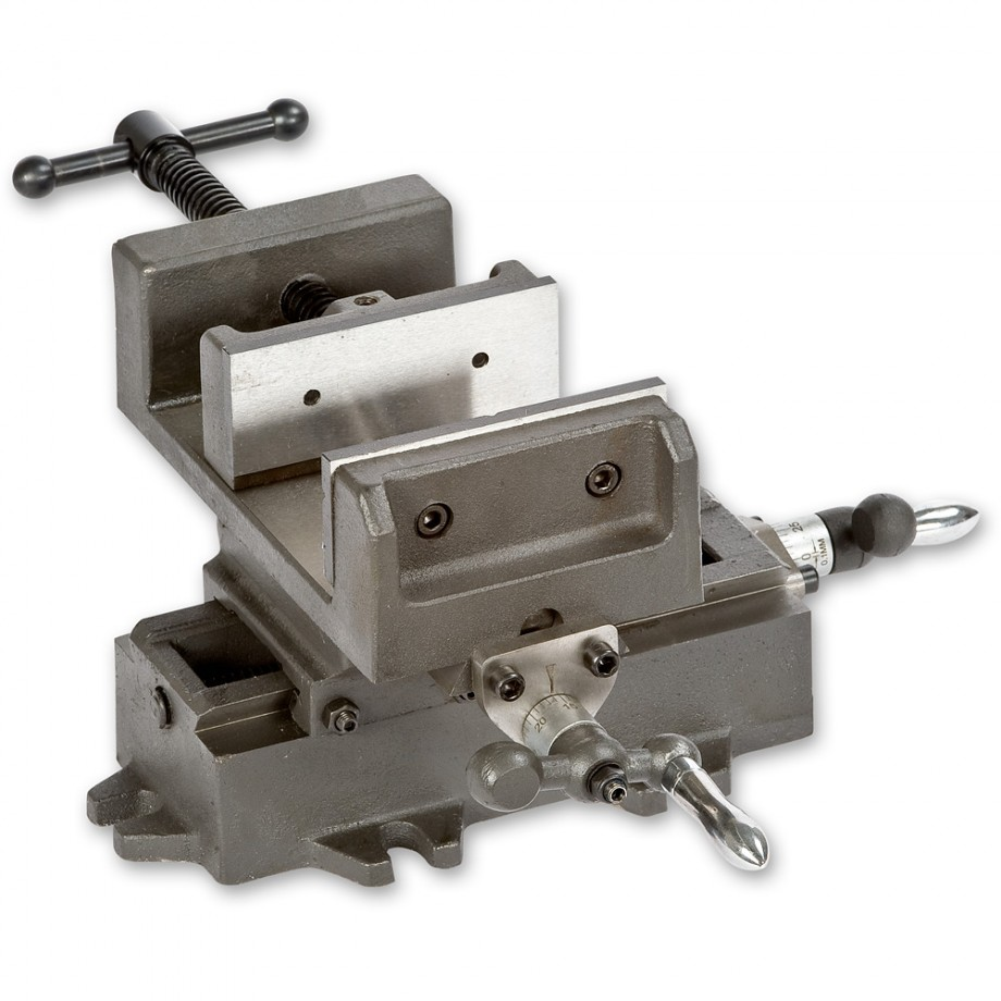 "Axminster Cross Clamp Vice -100mm( 4"")"