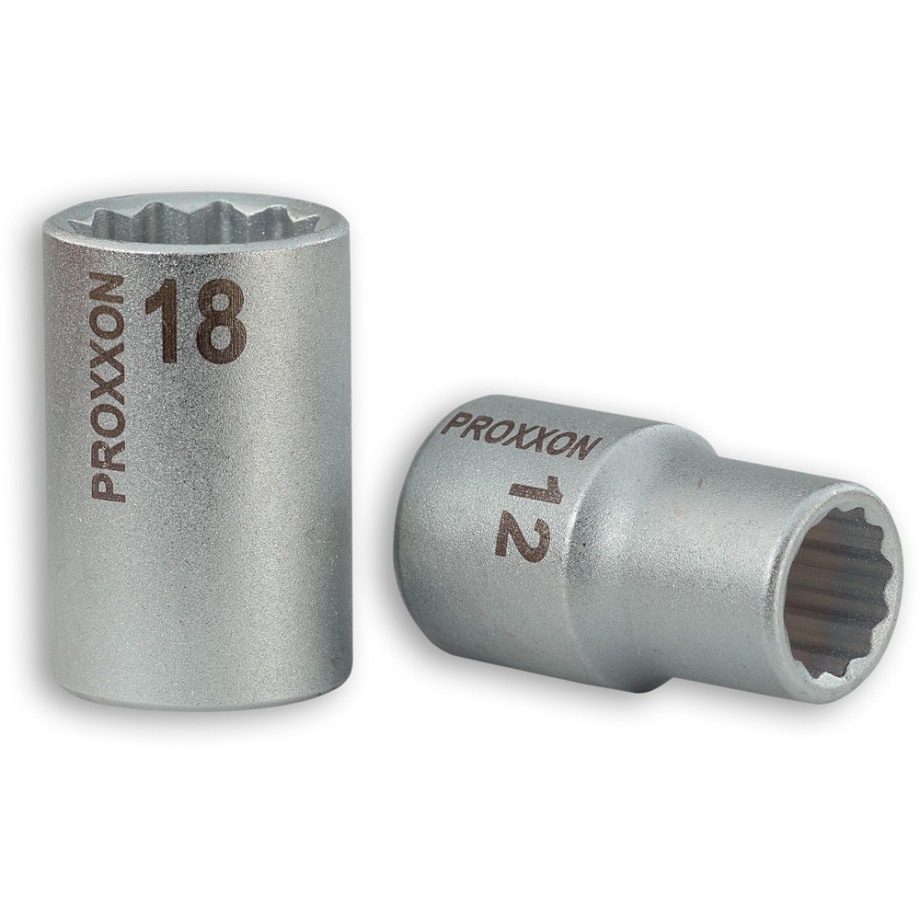 "Proxxon 1/2"" Sockets for XZN-screw 18mm"