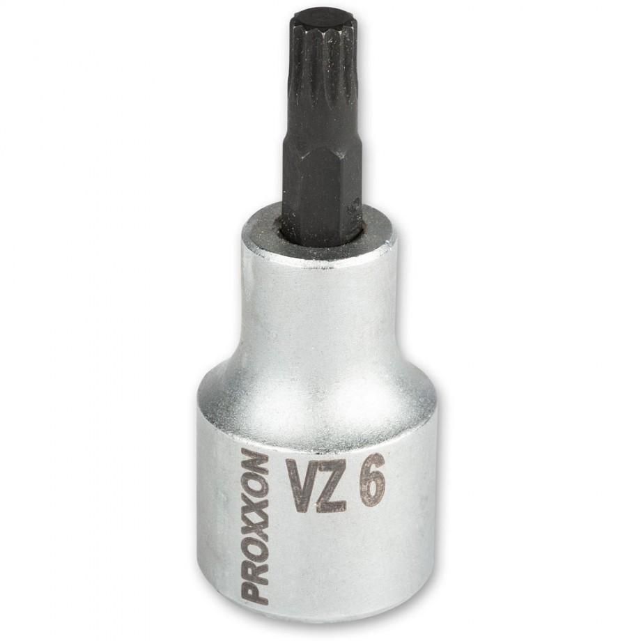 """Proxxon 1/2"""" Spline Inserts VZ6"""