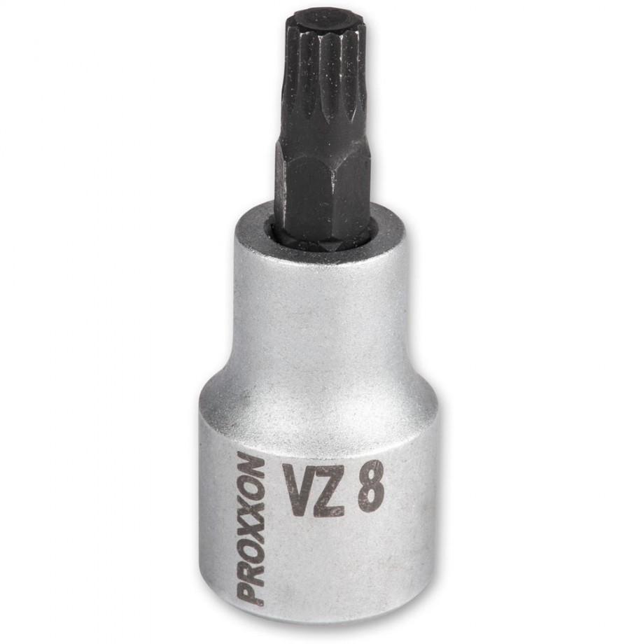 """Proxxon 1/2"""" Spline Inserts VZ8"""