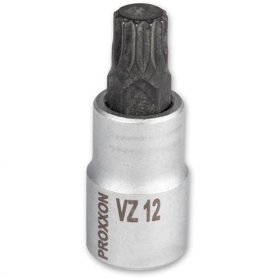 """Proxxon 1/2"""" Spline Inserts VZ12"""